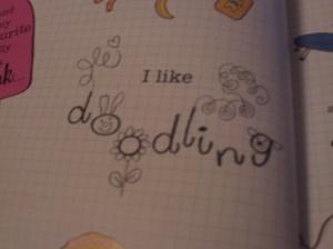 (4) Doodling close-up