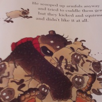 "The eyes have it :  ""Hugless Douglas"" by David Melling"