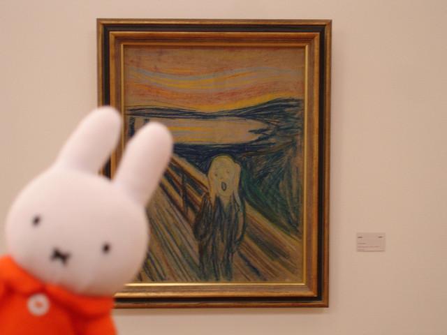 Miffy y El Grito de Munch