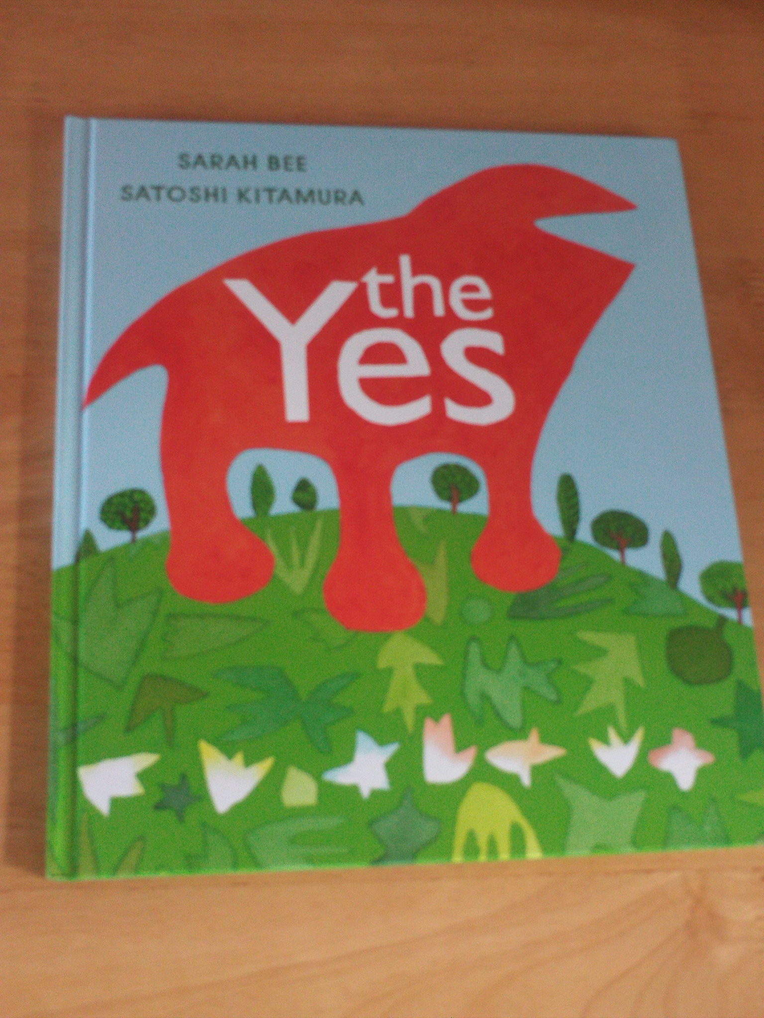 Front cover of 'the yes'