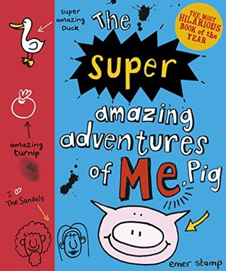This is just perfect. Hard, almost 'board-book' edges, covered in doodles and fun and life. Really appealing. Out now!