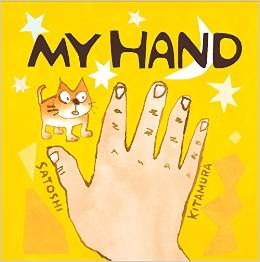 Satoshi Kitamura's 'My Hand' is a gem. I spent a good while just staring at it. Andersen have some cracking picture book titles at the mo. This is out end of December - it's worth popping on Christmas lists now!