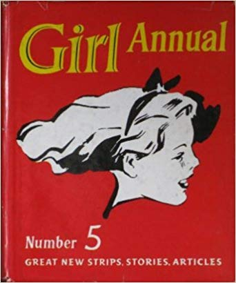 The front cover of GIRL ANNUAL number 5